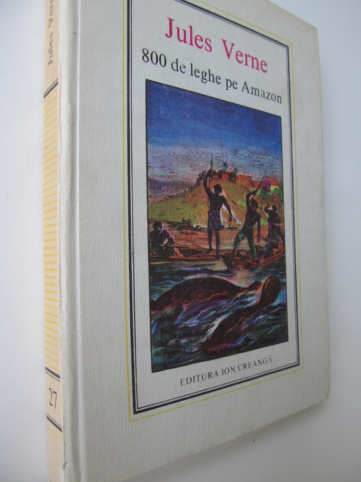 800 de leghe pe Amazon (27) - Jules Verne | Detalii carte