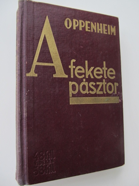 A fekete pasztor - E. Ph. Oppenheim | Detalii carte