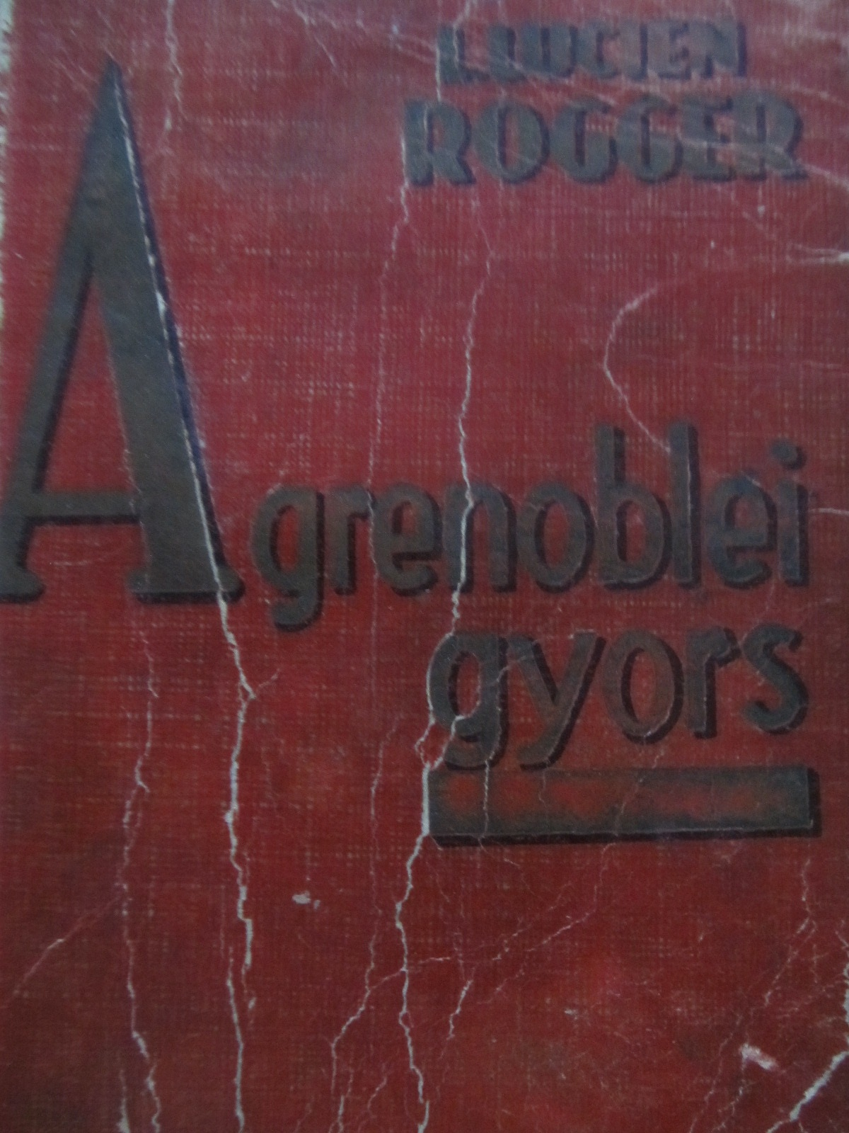A grenoblei gyors - Louis Lucien Rogger | Detalii carte
