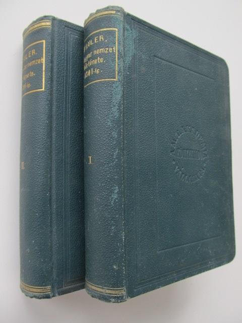 A Magyar nemzet tortenete az Arpadhazi kiralyok alatt (2 vol.) , 1893 (editie princeps) - Pauler Gyula | Detalii carte