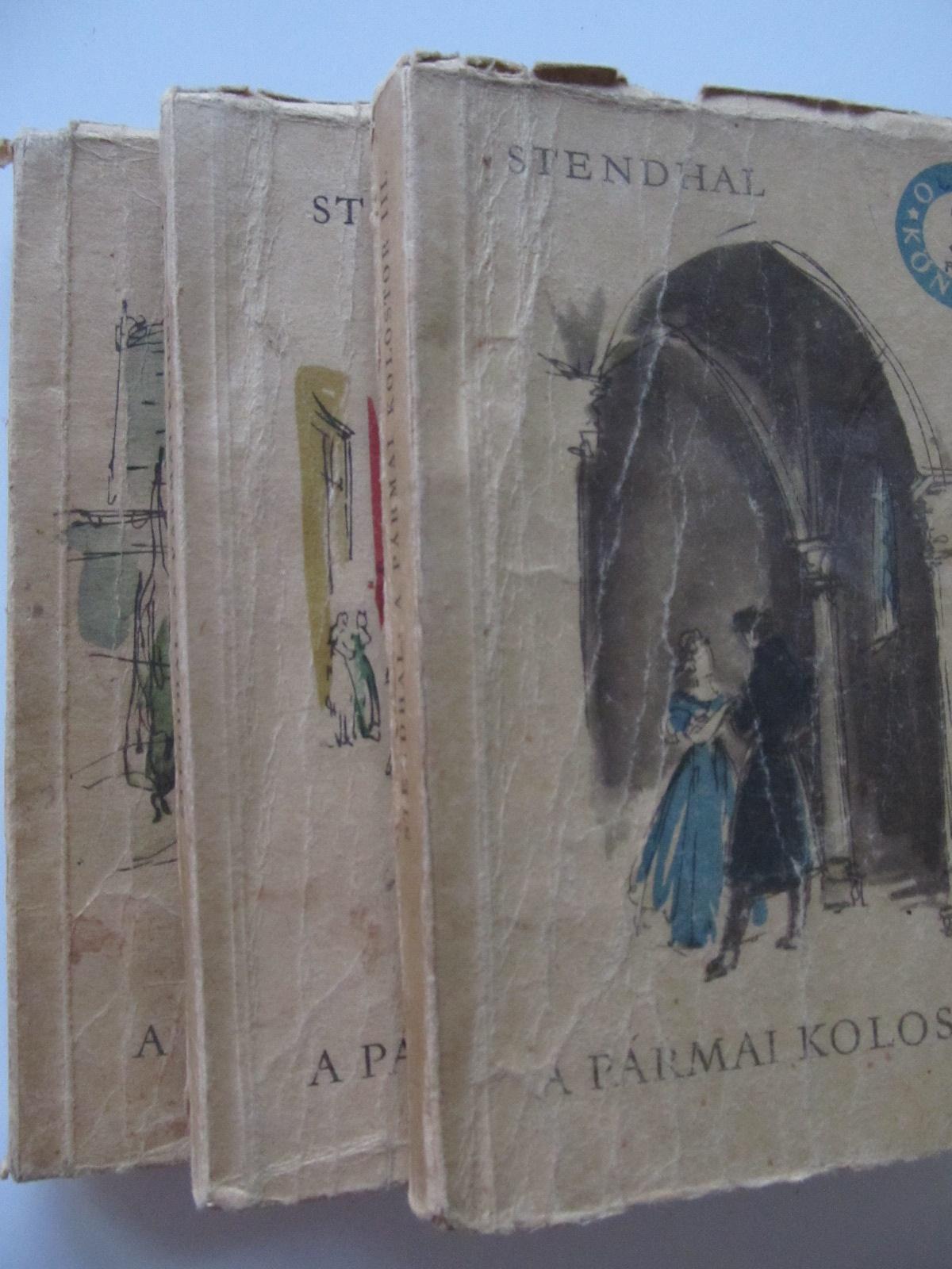 A parmai kolostor (3 vol.) - Stendhal | Detalii carte