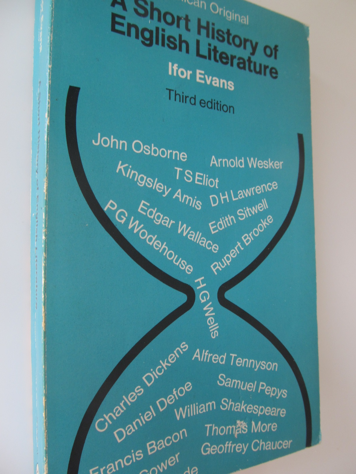A short history of english literature - Ifor Evans | Detalii carte
