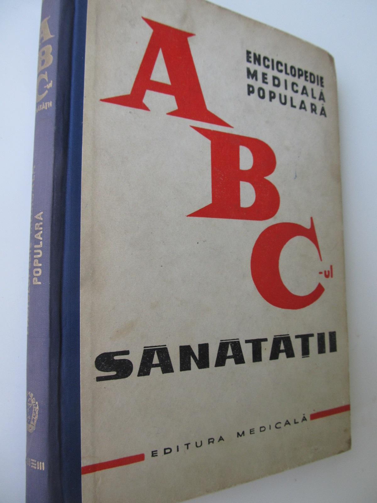 ABC-ul sanatatii - Theodor Burghele , ... | Detalii carte