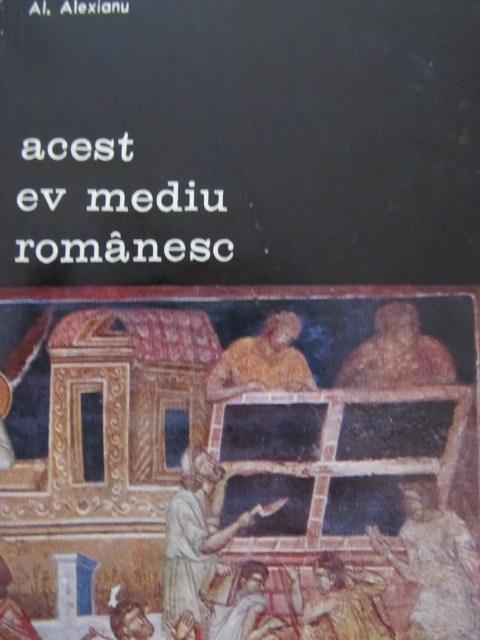 Acest ev mediu romanesc [1] - Al. Alexianu | Detalii carte