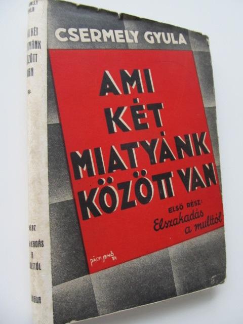 Ami ket miatyank kozott volt (vol. 1) - Elszakadas a multtol - Csermely Gyula | Detalii carte