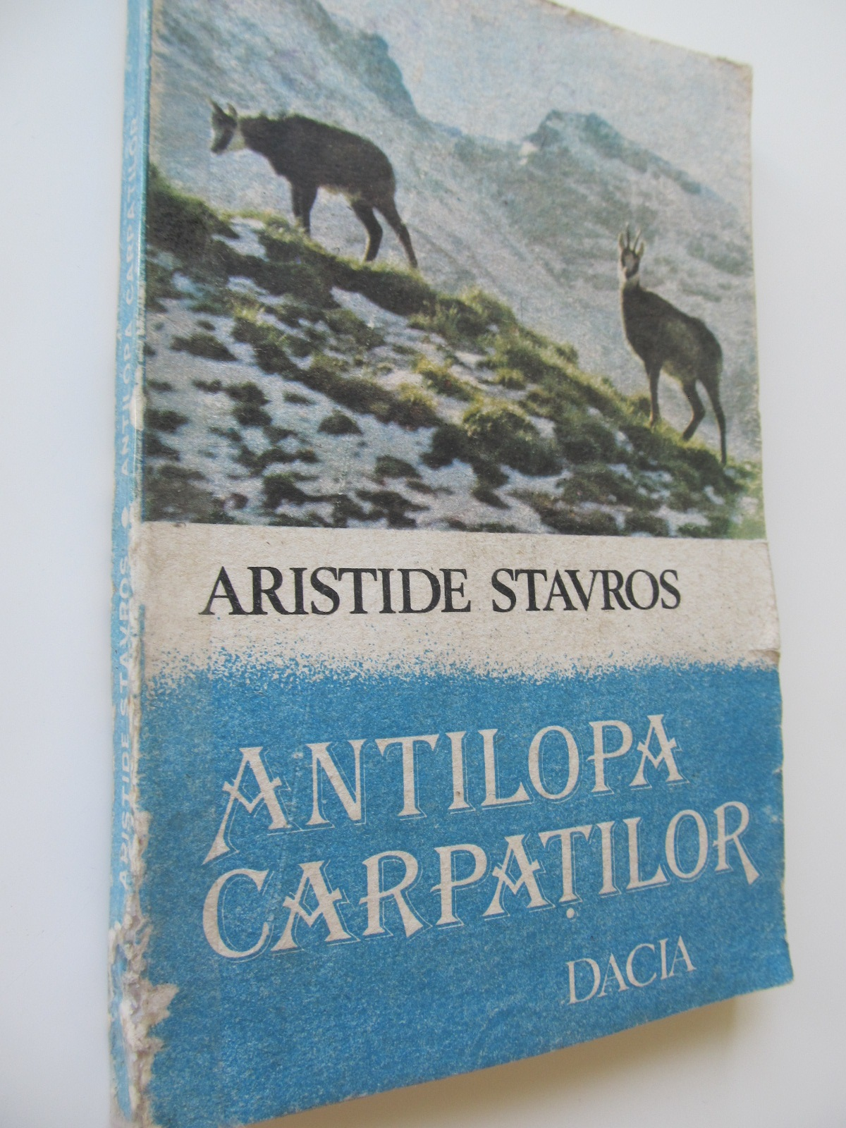 Antilopa carpatilor - Aristide Stavros | Detalii carte