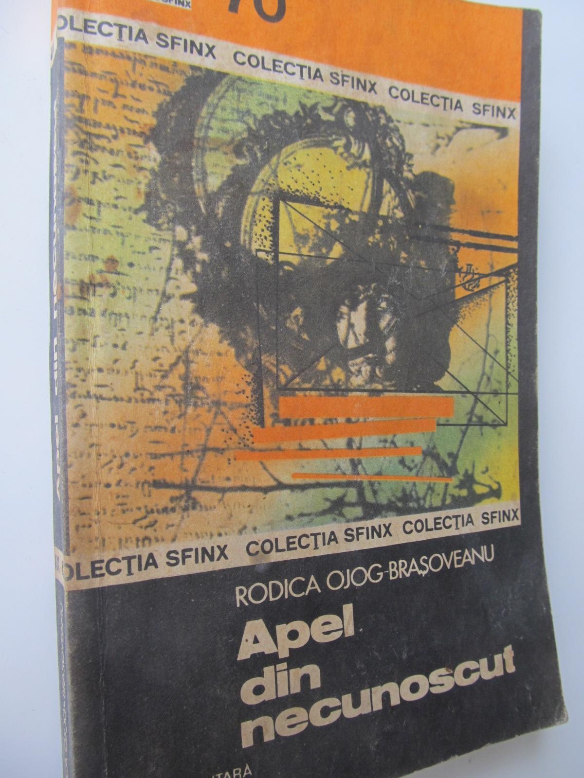 Apel din necunoscut - Rodica Ojog Brasoveanu   Detalii carte