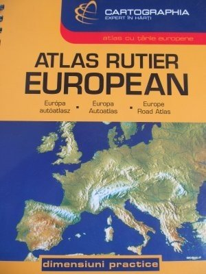 Atlas rutier European - *** | Detalii carte