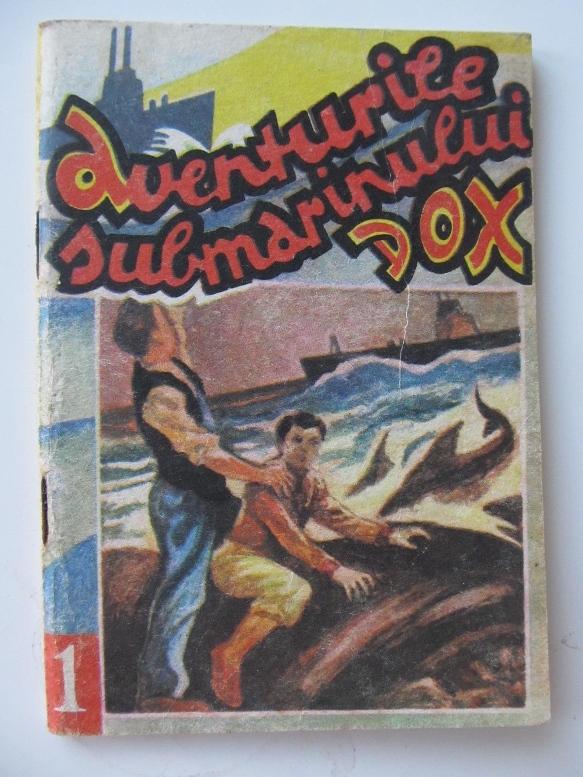 Aventurile submarinului Dox (1) - Grozaviile marilor - Henry Warren | Detalii carte