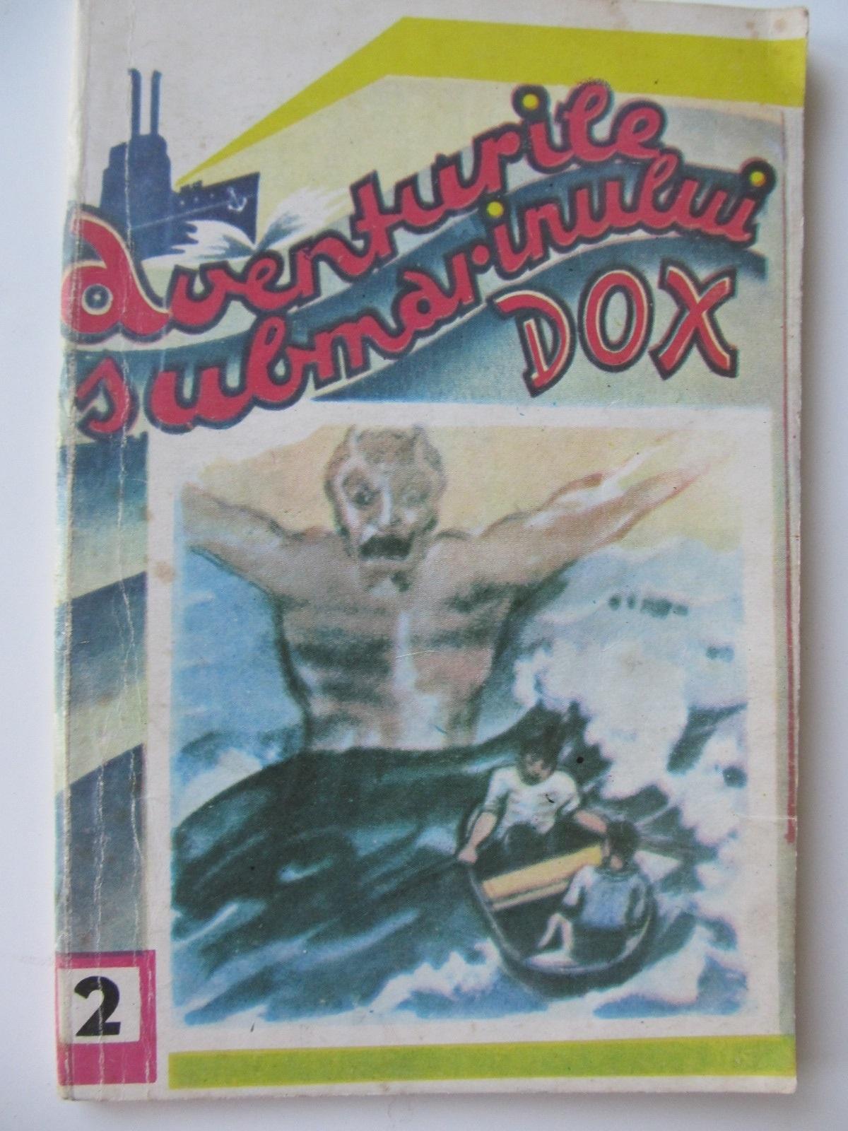 Aventurile submarinului Dox (2) - Razbunarea lui Satan - Henry Warren | Detalii carte