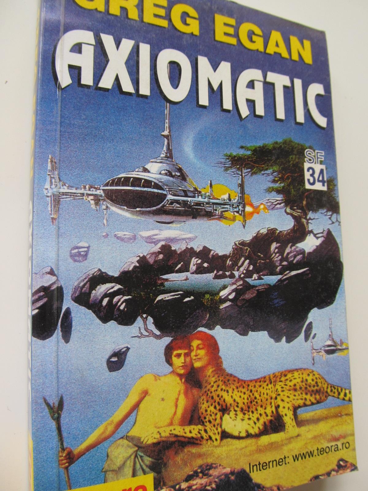 Axiomatic - Greg Egan | Detalii carte