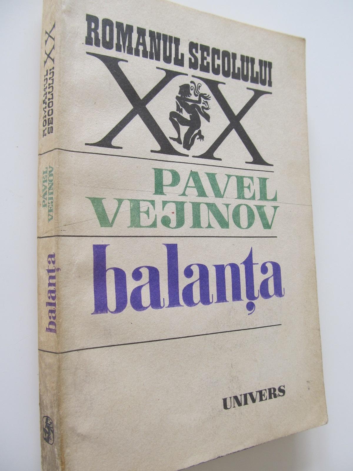 Balanta - Pavel Vejinov | Detalii carte