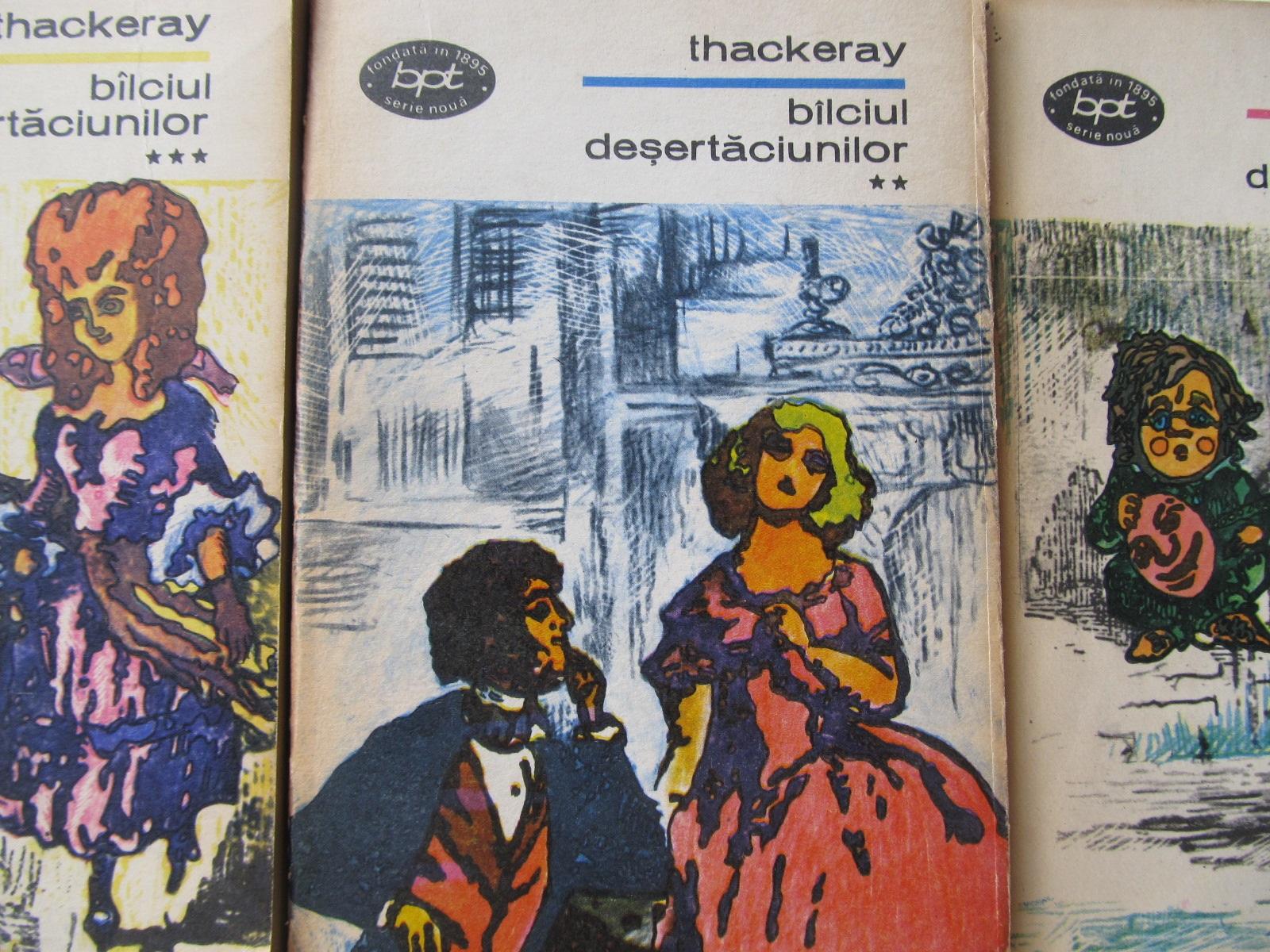 Balciul desertaciunilor (3 vol.) - W. M. Thackeray | Detalii carte