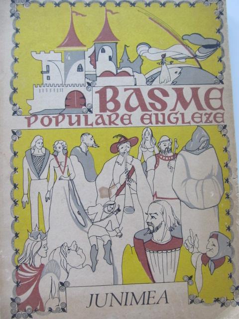 Basme populare engleze (ilustr. George Scutaru) - *** | Detalii carte