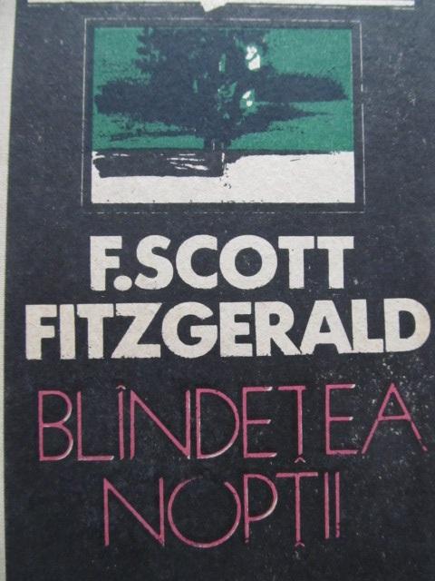 Blandetea noptii - F. Scott Fitzgerald | Detalii carte