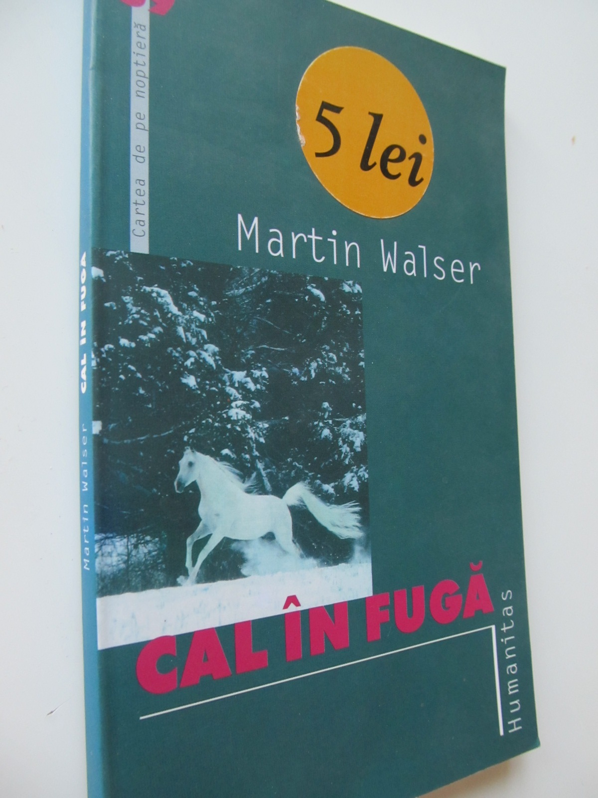 Carte Cal in fuga - Martin Walser