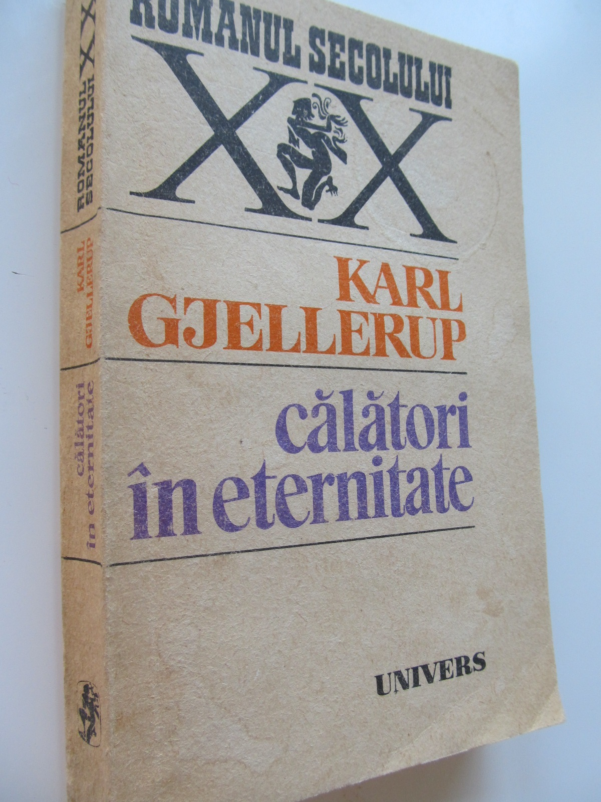 Calatori in eternitate - Karl Gjellerup | Detalii carte