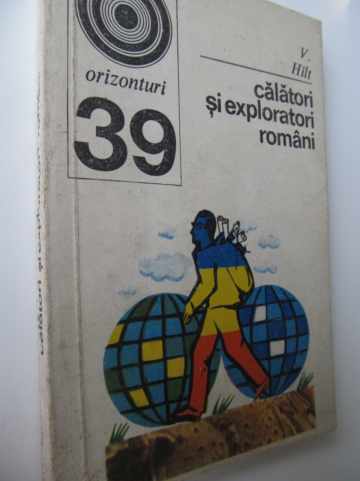 Carte Calatori si exploratori romani (39) - V. Hilt