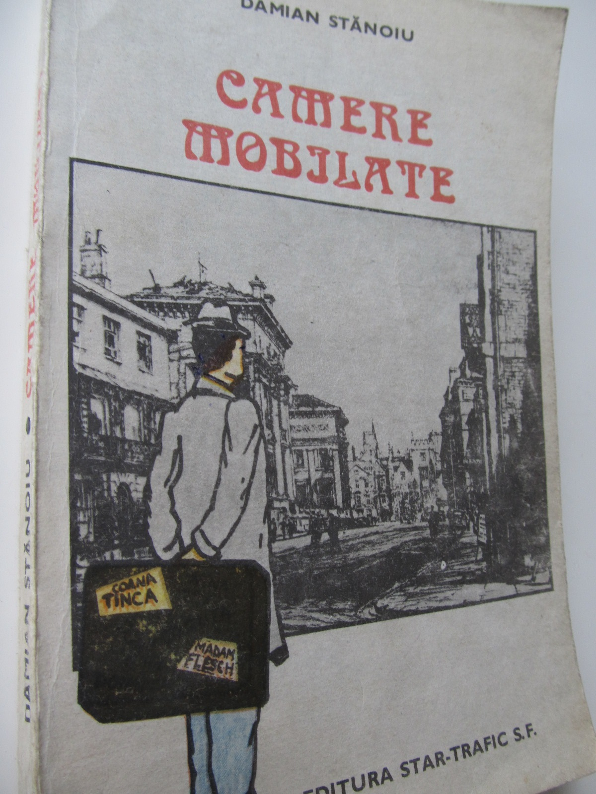 Camere mobilate - Damian Stanoiu | Detalii carte