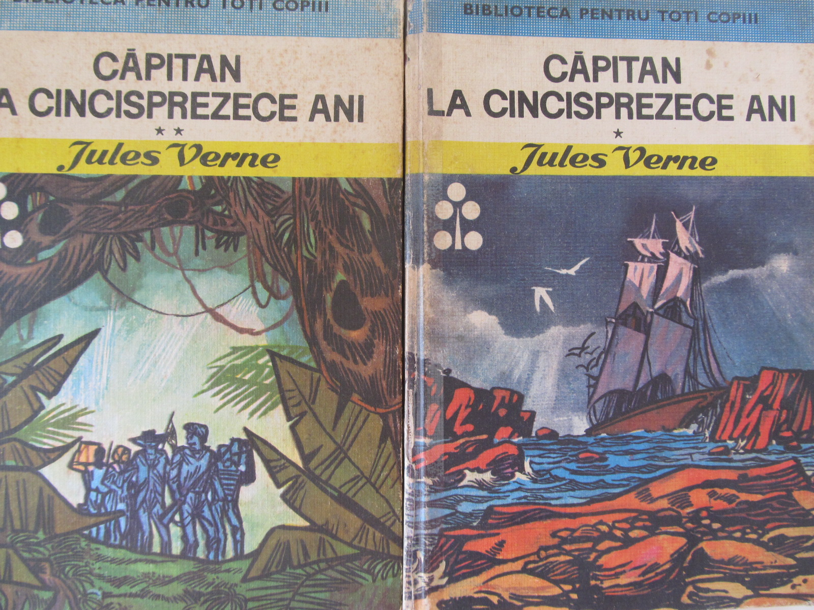 Capitan de cincisprezece ani (2 vol.) (ilustr. Kalab Francisc) - Jules Verne | Detalii carte