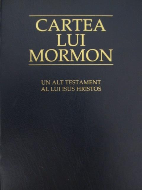 Carte Cartea lui Mormon - ***
