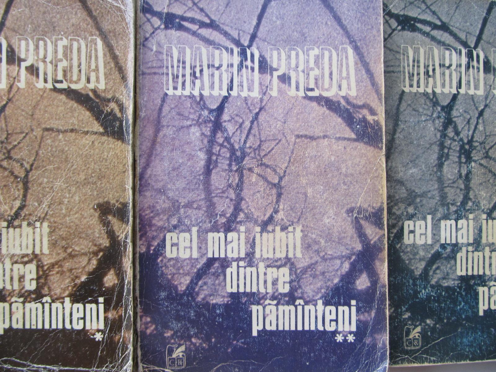 Cel mai iubit dintre pamanteni (3 vol.) - Marin Preda | Detalii carte