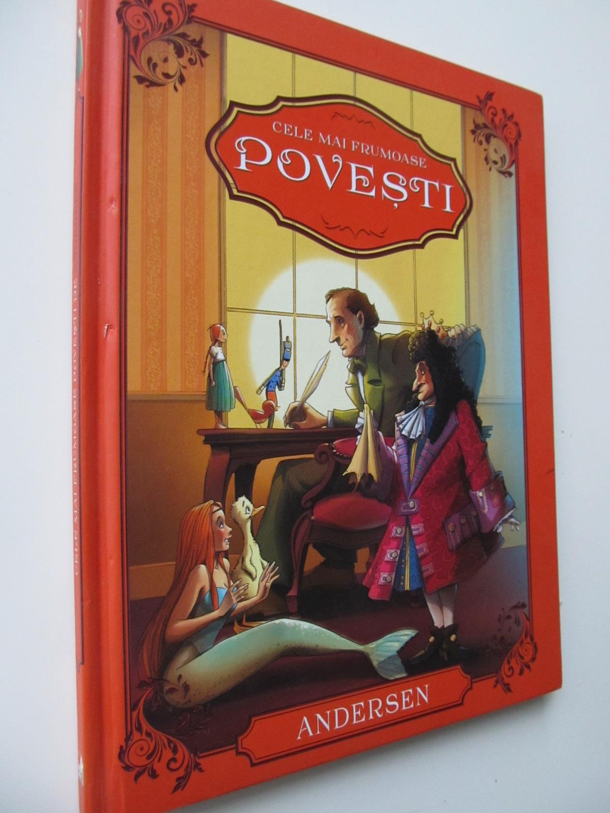 Cele mai frumoase povesti (format foarte mare) - Andersen | Detalii carte