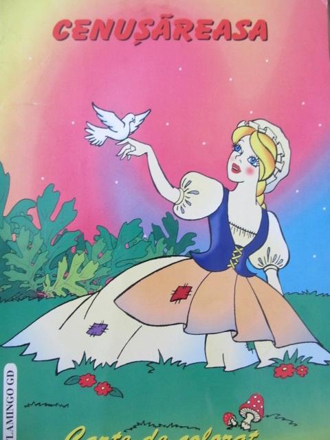 Cenusareasa - carte de colorat - *** | Detalii carte