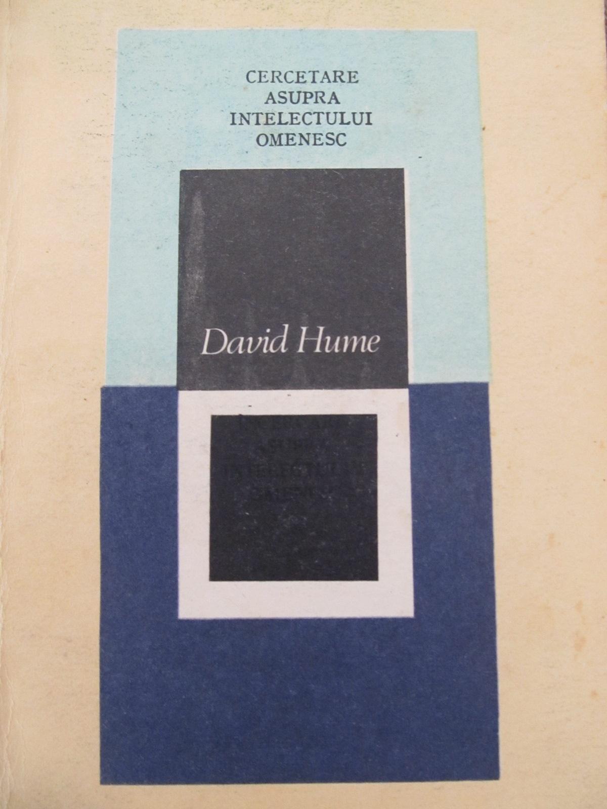Cercetare asupra intelectului omenesc [1] - David Hume | Detalii carte