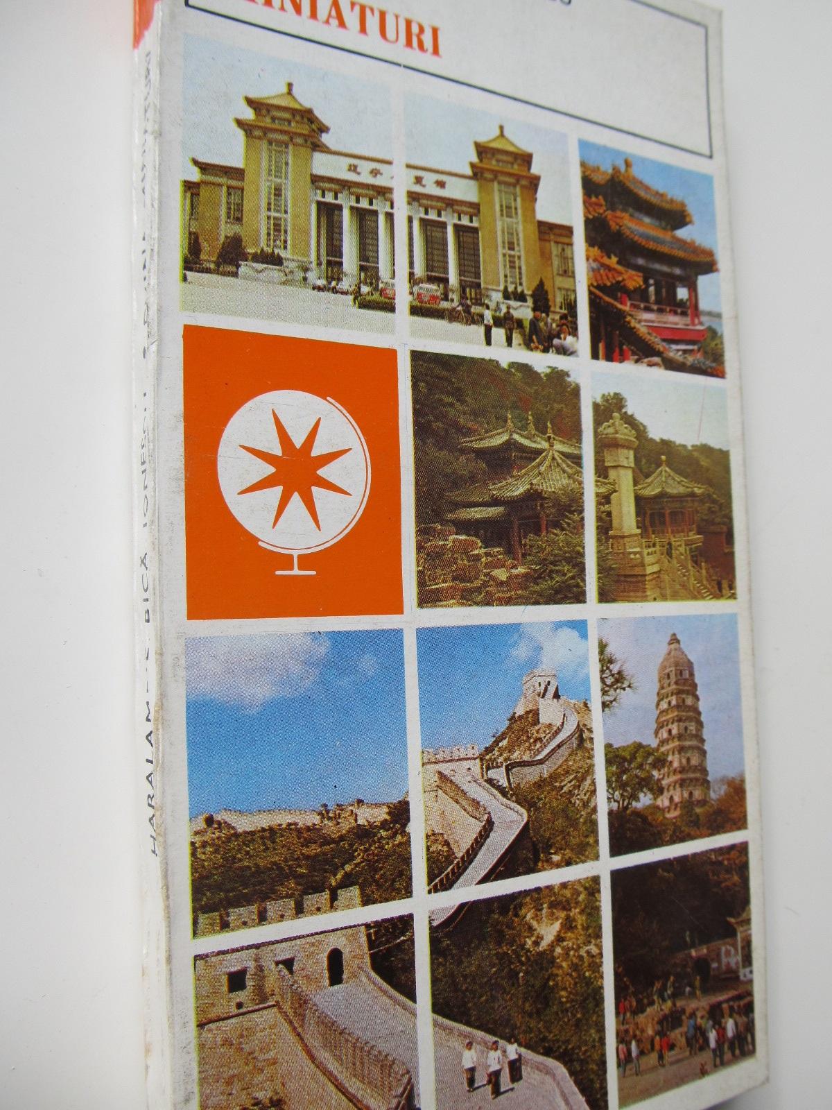 China - miniaturi - Haralambie Bica Ionescu | Detalii carte
