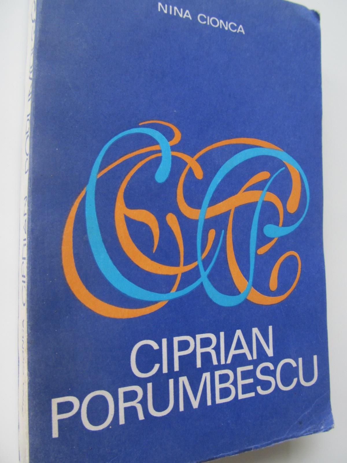 Ciprian Porumbescu - Nina Cionca | Detalii carte