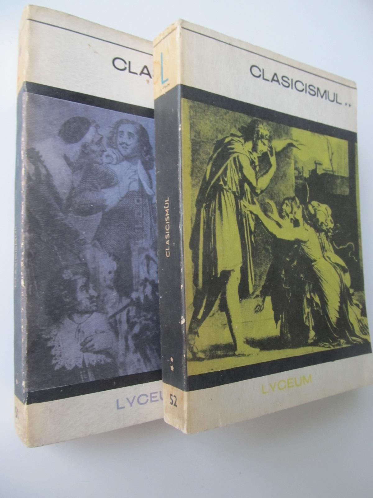 Clasicismul (2 vol.) - *** | Detalii carte