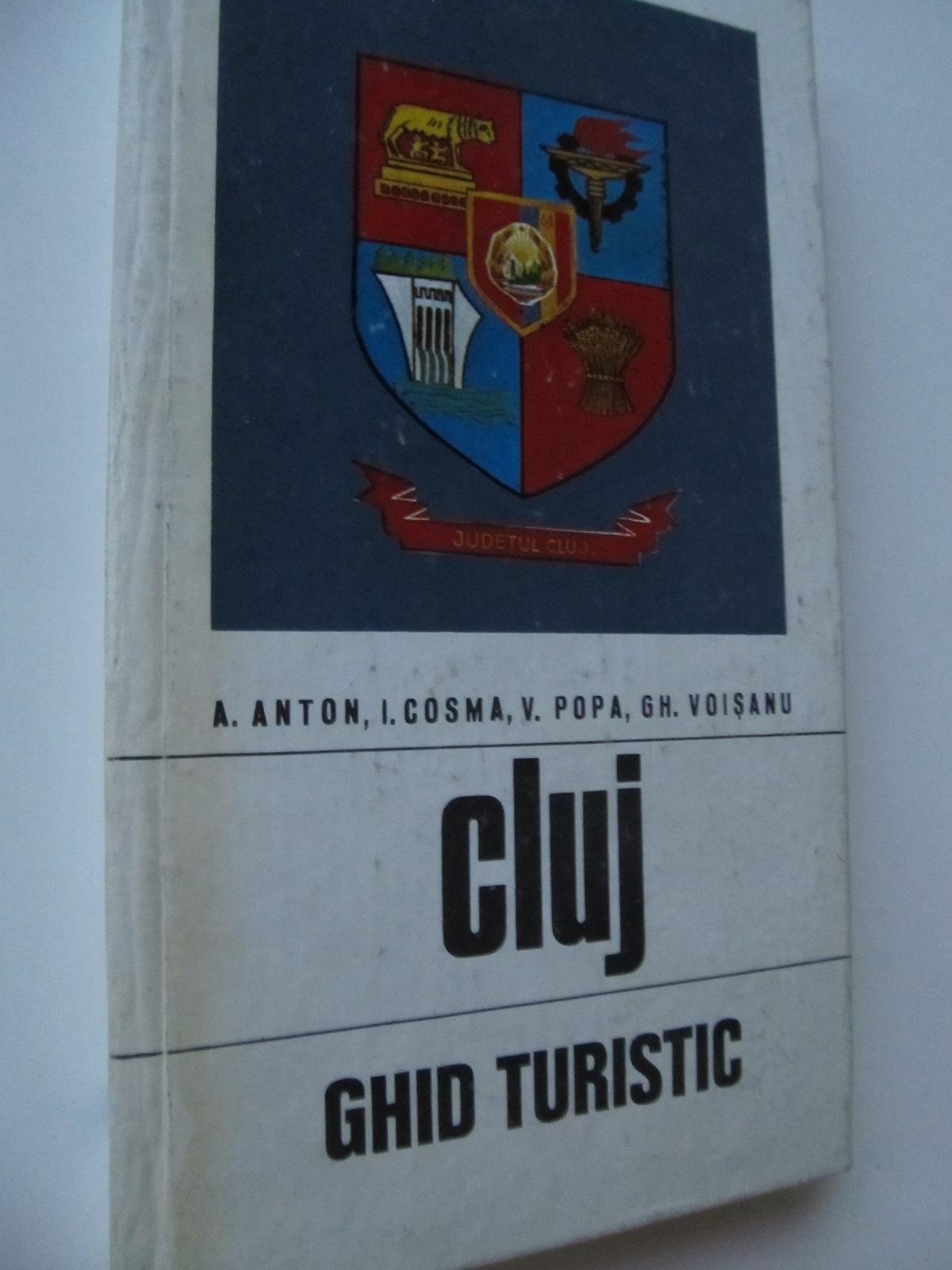 Cluj - Ghid turistic al judetului (cu harta) - A. Anton , I. Cosma , .. | Detalii carte
