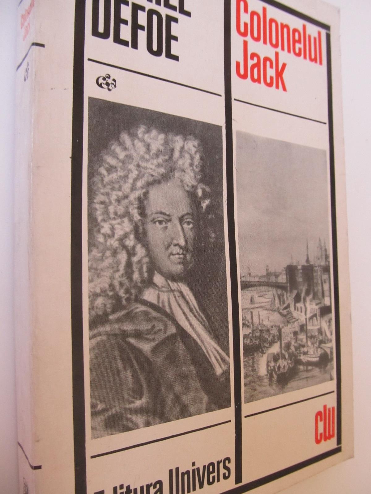 Colonelul Jack - Daniel Defoe | Detalii carte