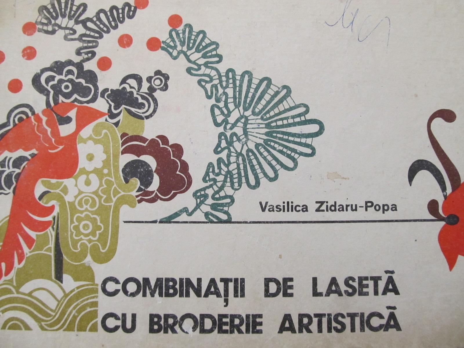Carte Combinatii de laseta cu broderie artistica [1] - Vasilica Zidaru Popa