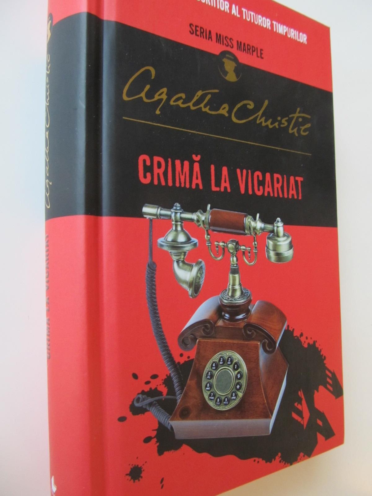 Crima la vicariat - Agatha Christie | Detalii carte