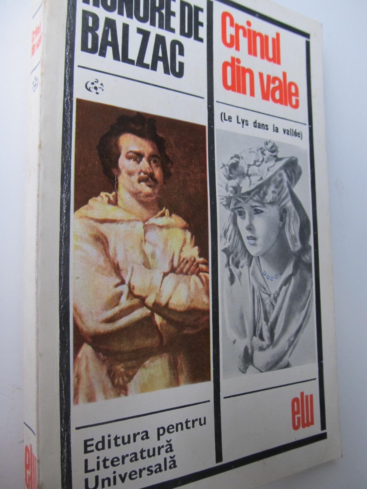 Crinul din vale - Honore de Balzac | Detalii carte