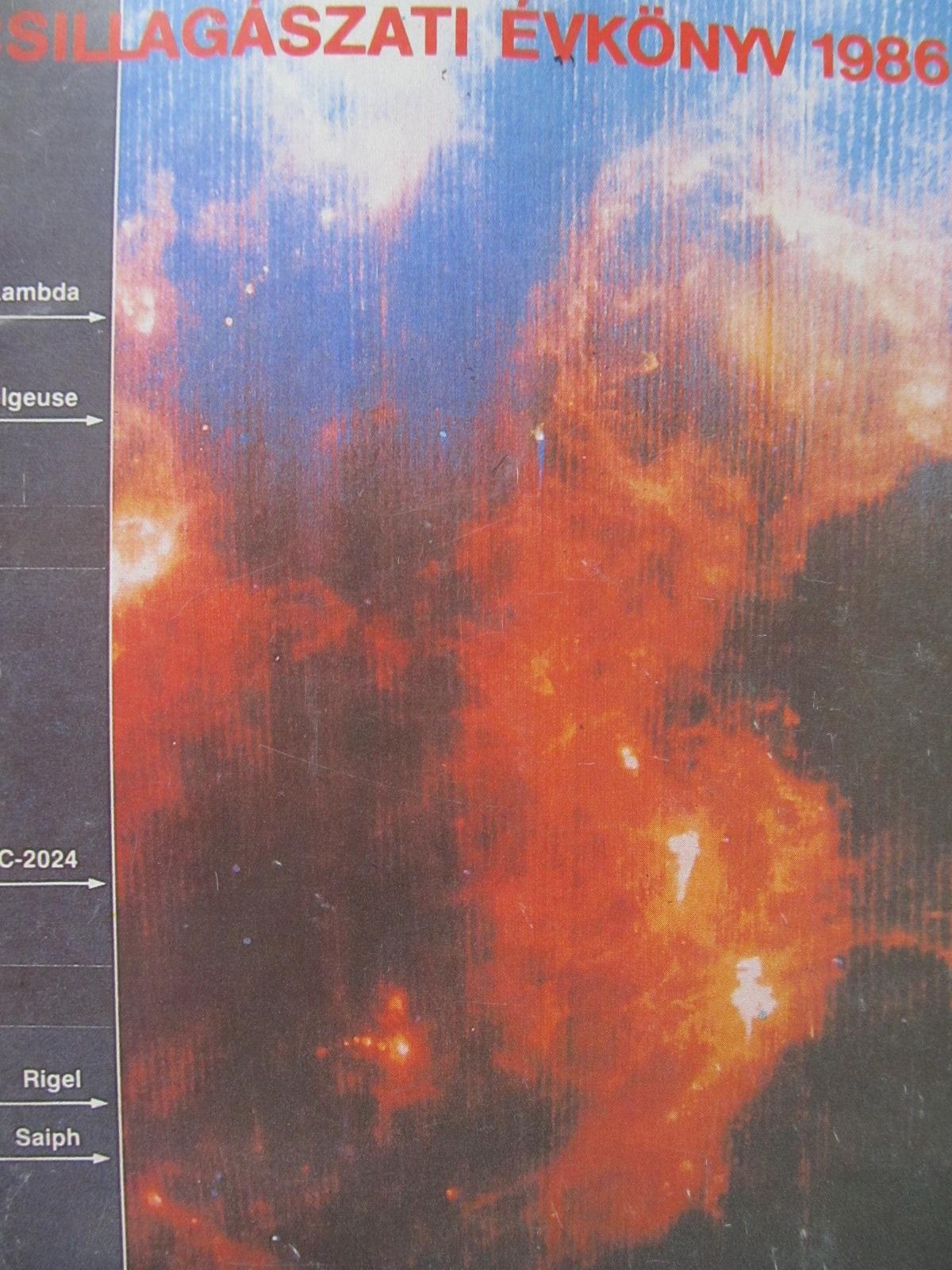 Csillagaszati evkonyv 1986 - *** | Detalii carte