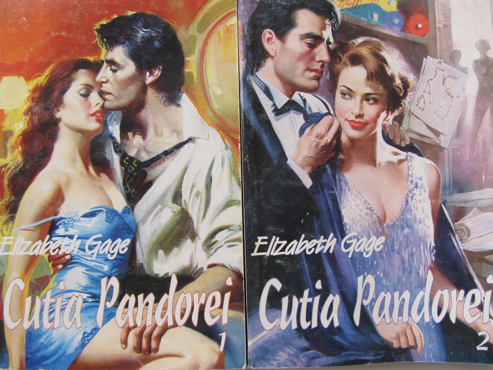 Cutia pandorei (2 vol.) - Elizabeth Gage | Detalii carte