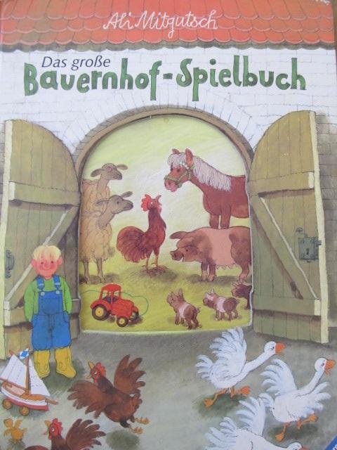 Das grosse Bauernhof Spielbuch - pagini carton gros - Ali Mitgutsch | Detalii carte
