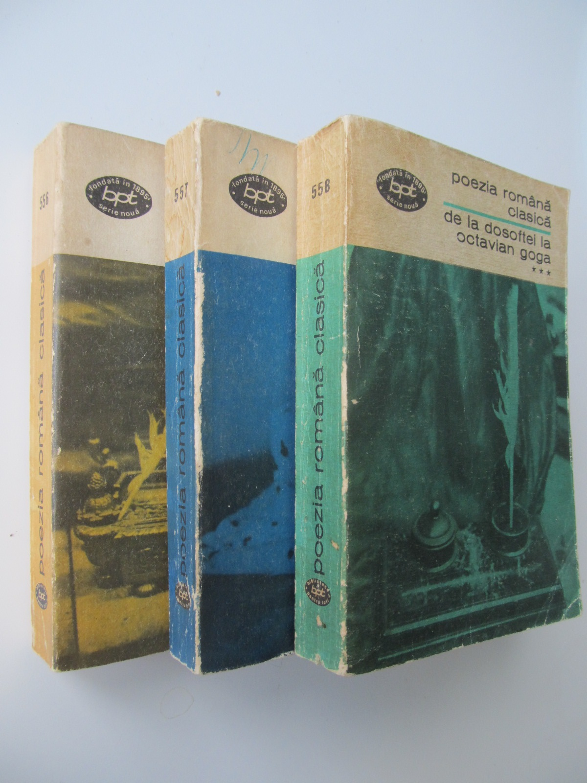 De la Dosoftei la Octavian Goga (3 vol.) - *** | Detalii carte