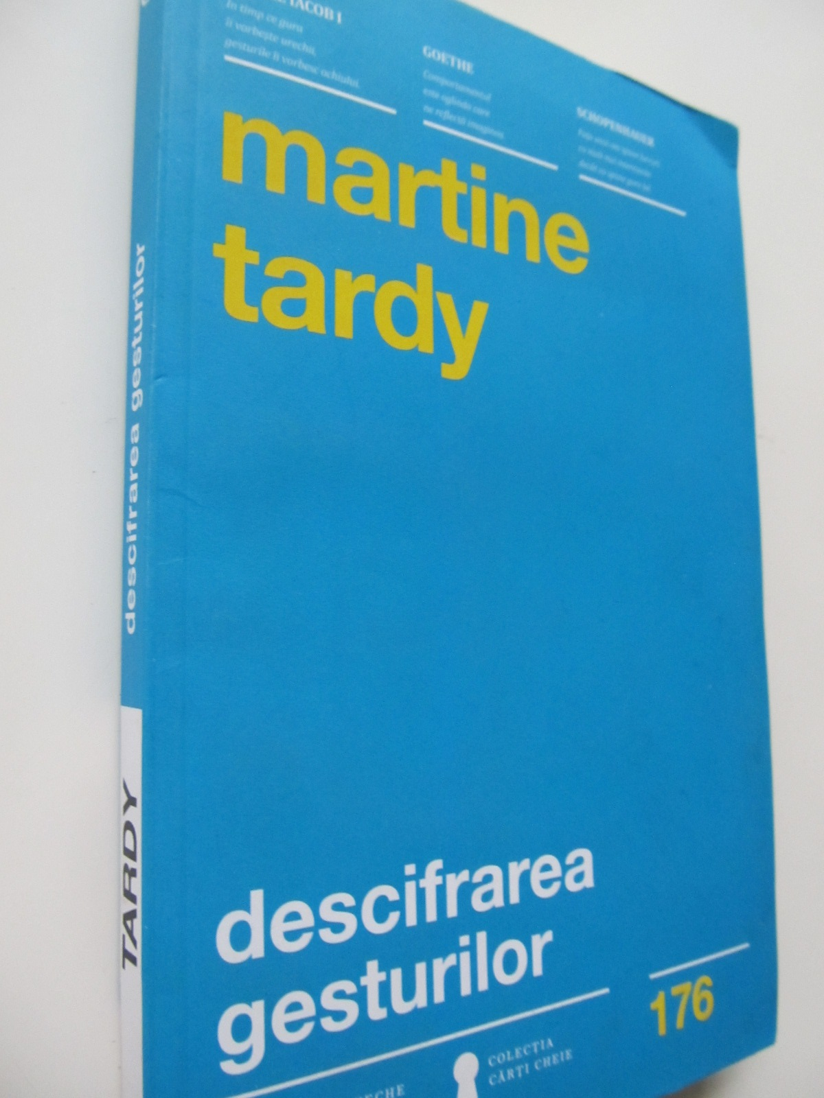 Descifrarea gesturilor - Martine Tardy | Detalii carte
