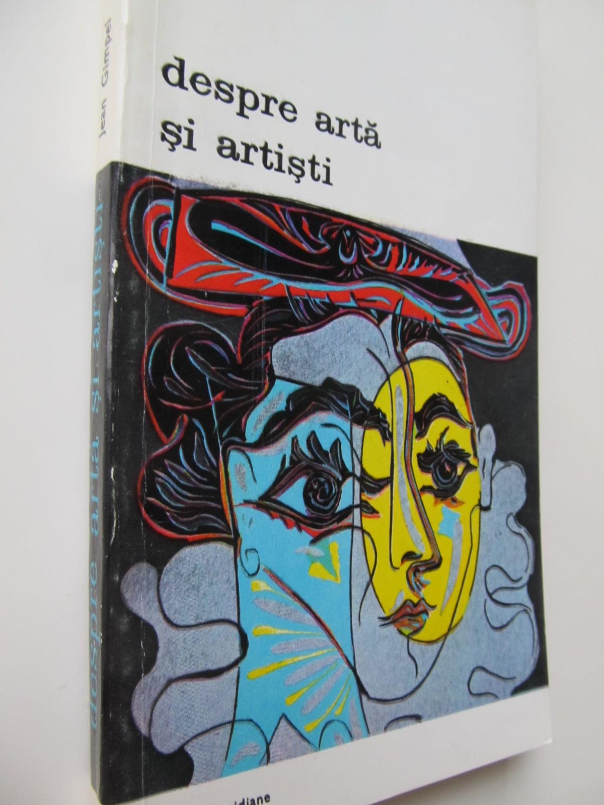 Despre arta si artisti - Jean Gimpel | Detalii carte