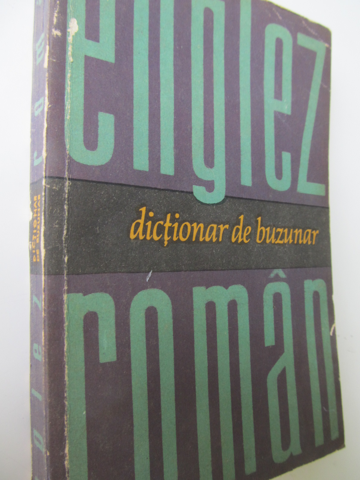 Dictionar de buzunar Englez Roman - Serban Andronescu | Detalii carte