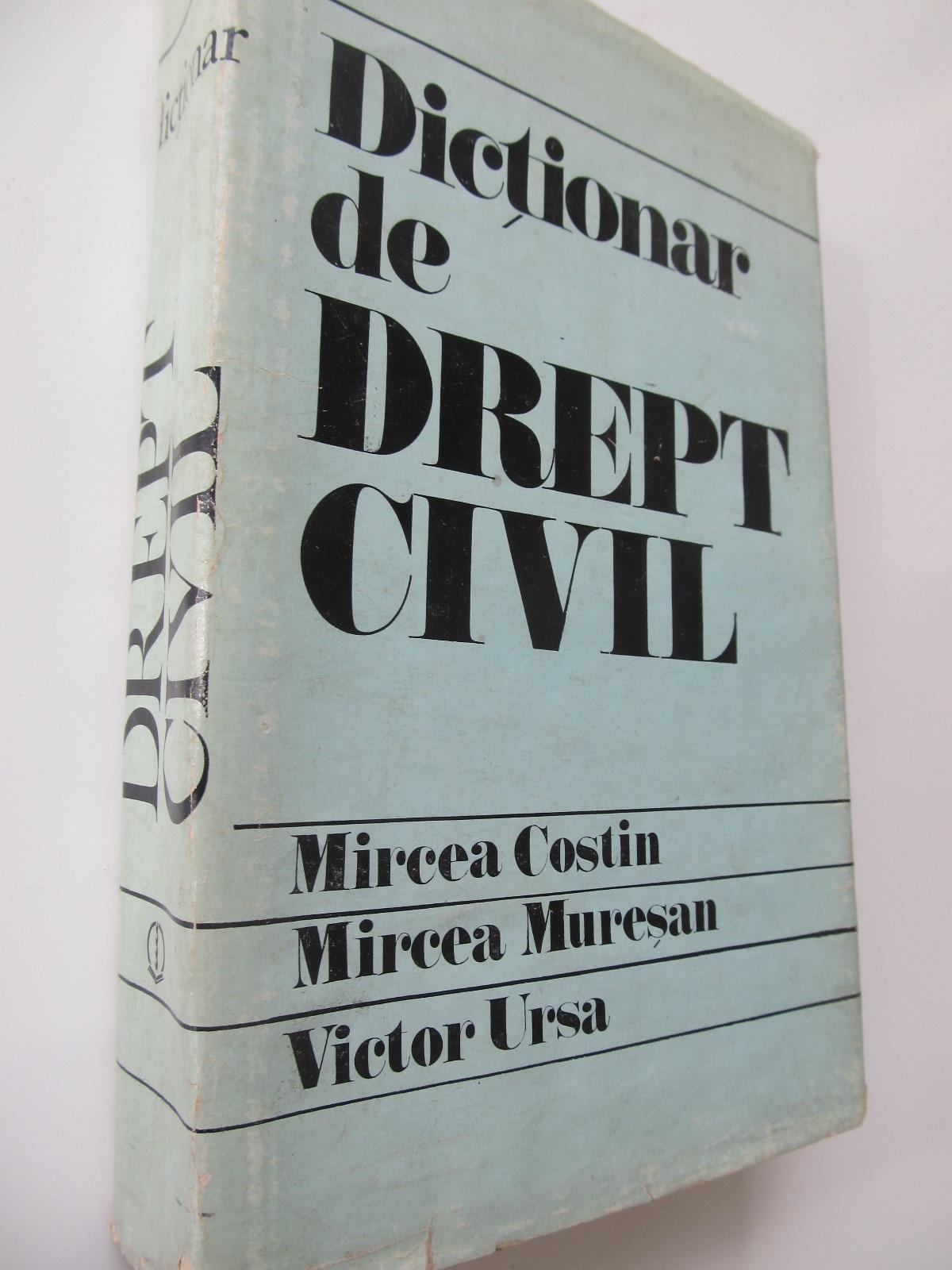 Dictionar de drept civil - Mircea Costin , ... | Detalii carte