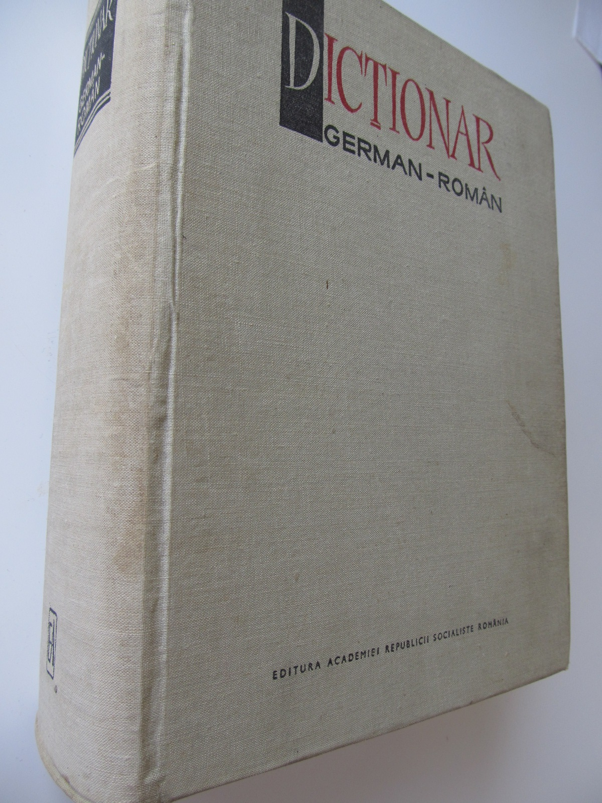 Dictionar German Roman (140000 cuvinte) - Mihai Isbasescu , Maria Iliescu , ... | Detalii carte