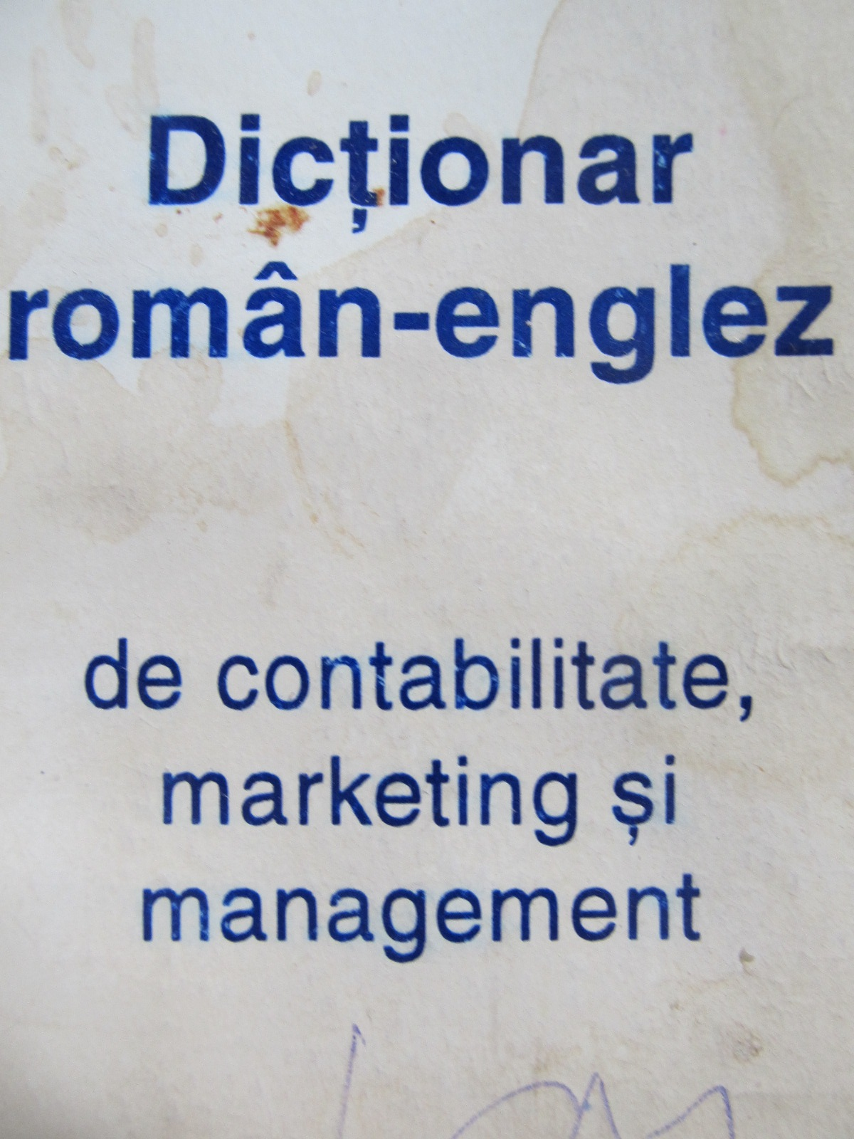 Dictionar Roman Englez de contabilitate marketing si management - *** | Detalii carte