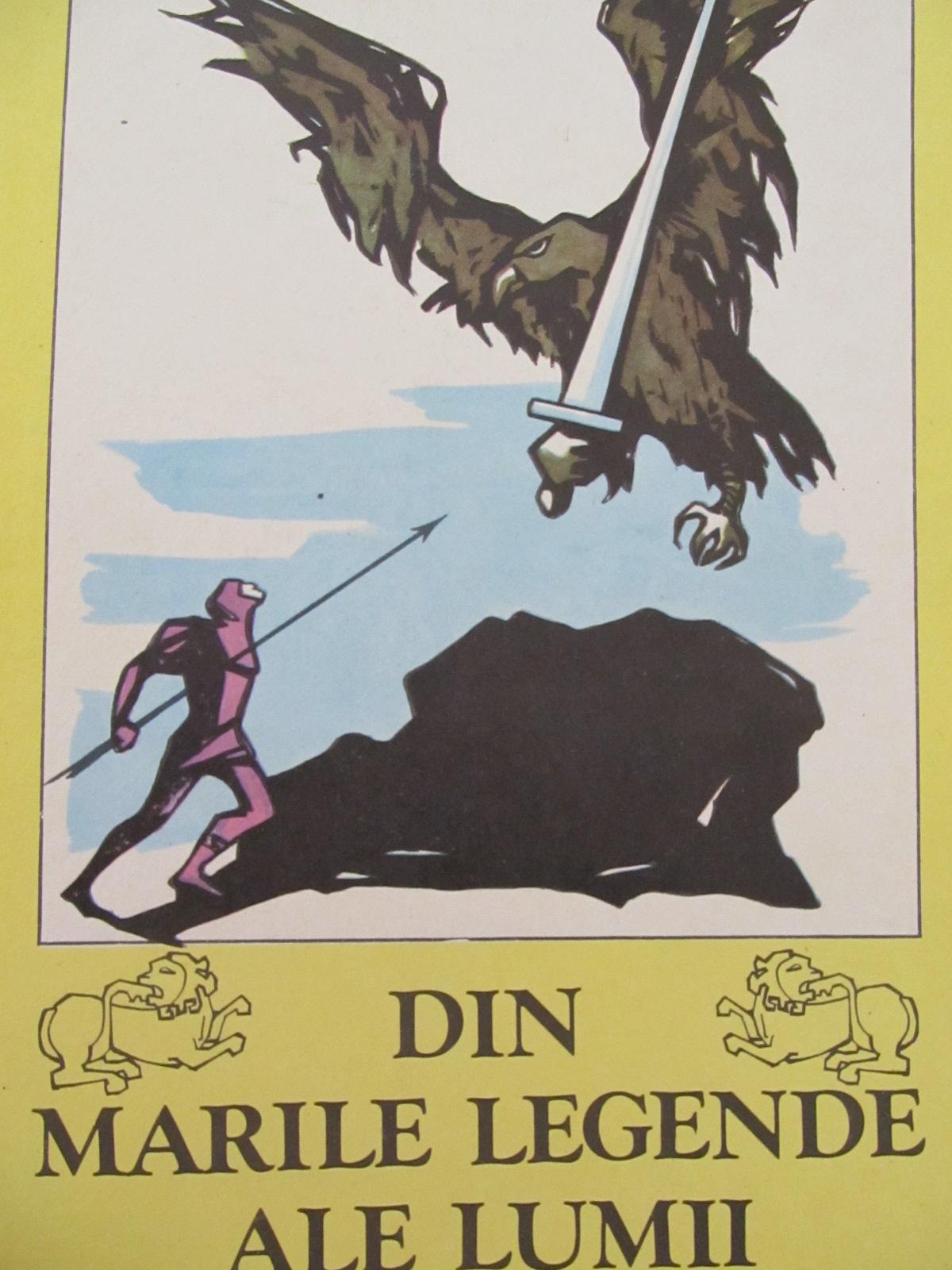 Din marile legende ale lumii (ilustr. Marcela Cordescu) [1] - Al. Mitru | Detalii carte
