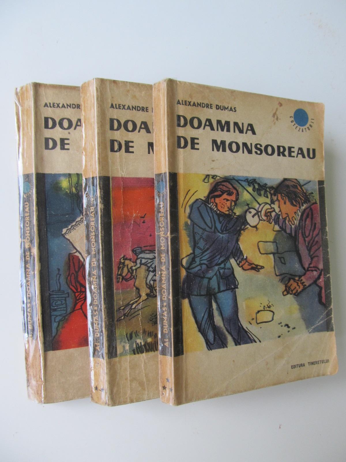 Doamna de Monsoreau (3 vol.) - Alexandre Dumas | Detalii carte