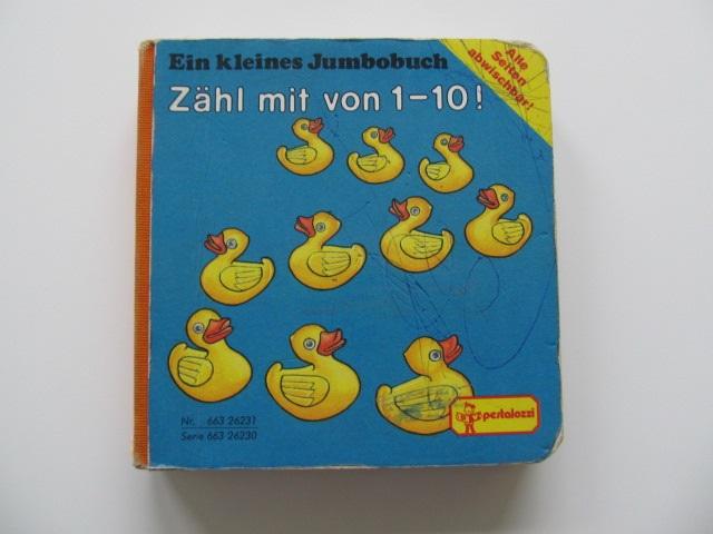 Ein kleines Jumbobuch - Zahl mit von 1-10 - pagini carton gros - *** | Detalii carte